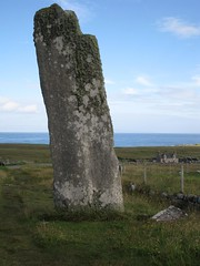 Very tall standing stone