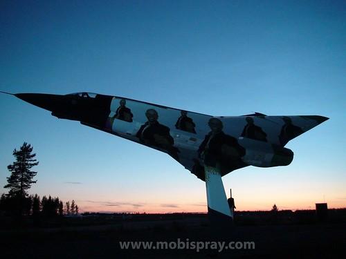 Saab 35 Draken. Saab 35 Draken by MobiLenin