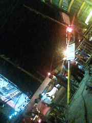 go, still (jjlumagbas) Tags: cameraphone red urban trafficlight philippines streetphotography cebu stoplight cebucity redlight banilad countrymall jeepneypics