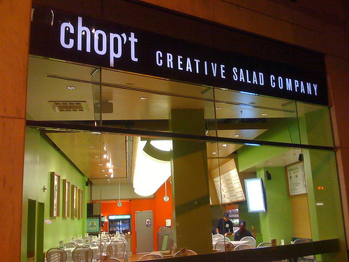 Chop't Creative Salad Company on Connecticut Avenue, Washington DC - Taken With An iPhone