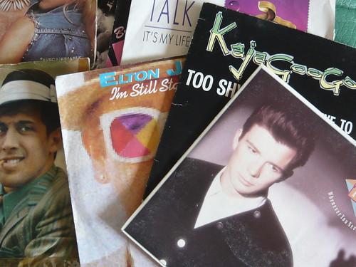 80er-Schallplattencover