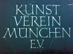 Kunstverein München (Bundscherer) Tags: münchen typography figure type typo ligature schrift glas zahlen typografie ziffern lovelyligatures