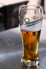 Staropramen (Mat Strange) Tags: summer beer canon outdoors sussex golden pub dof czech drink hastings pint relaxed refreshing staropramen 50mmf18 canonef50mmf18ii 450d