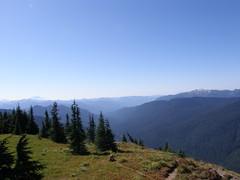 Views from Shriner Peak Lookout.