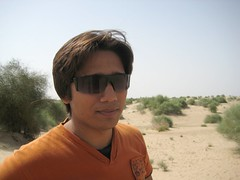 Friend shoaib Cholistan Desert (Ahmad PK) Tags: pakistan vacation photography desert fort shoaib cholistan bahawalpur derawar
