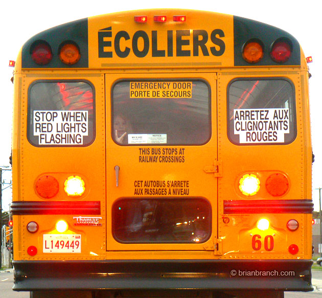 School Bus - Écoliers
