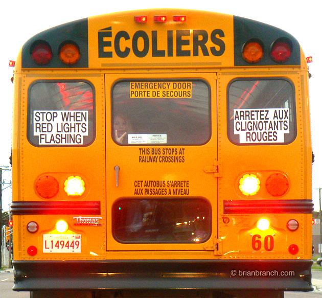 School Bus - Écoliers
