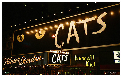 """""""CATS"""" at the WINTER GARDEN THEATRE, 1634 Broadway, New York City, N.Y."""