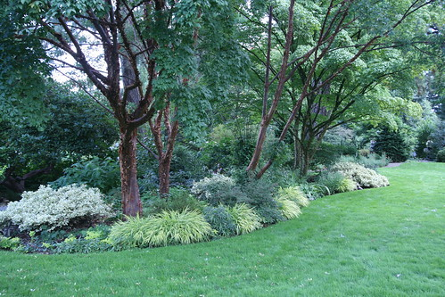 Landscape bed at Bates Garden in Portland
