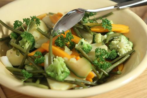 Panaché de légumes