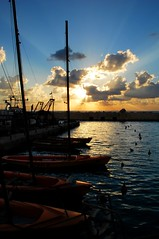 Jaffa's beautiful harbor