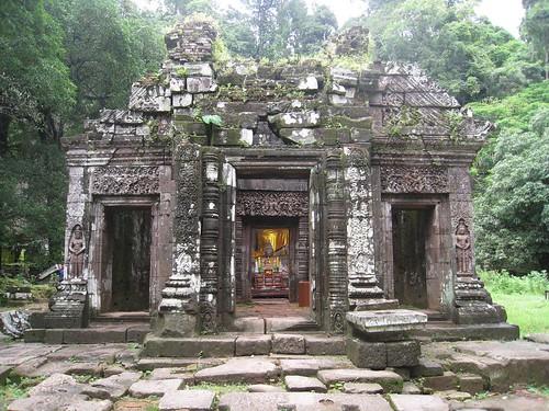 Temple at Wat Phu