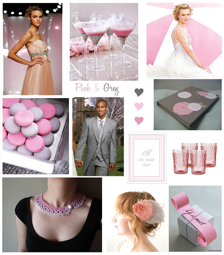 Pink & Grey Birthday Party