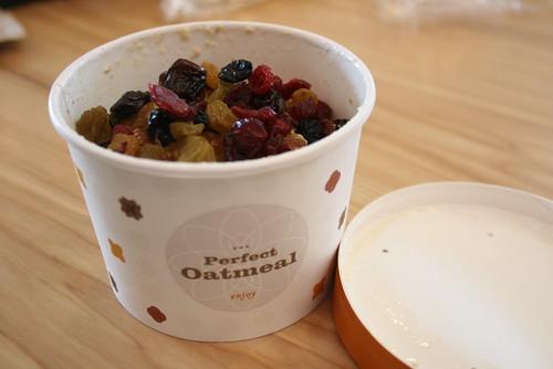 Oatmeal at Starbucks