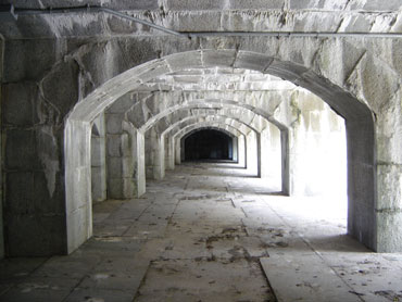 Old Fort Totten Archways