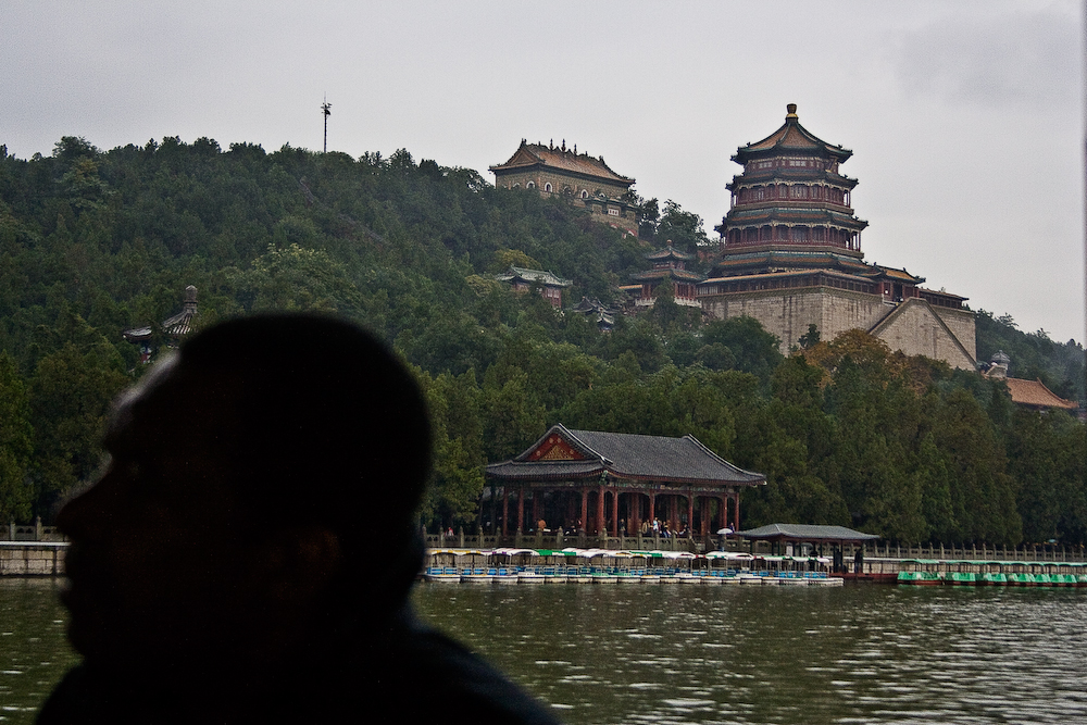 summer palace on the water