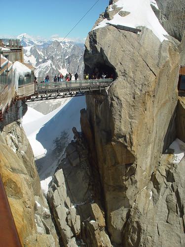 L'Aiguille du Midi - El puente