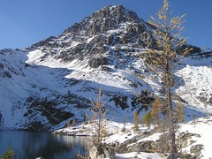 Wing Lake with Black towering above