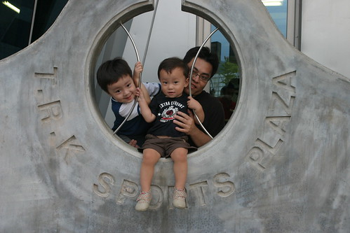 你拍攝的 大魯閣:棒球和三個男孩。