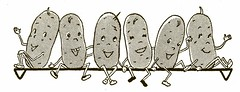 Happy Potatoes (Wyld_Hare) Tags: vintage cookbook potatoes graphics chldren