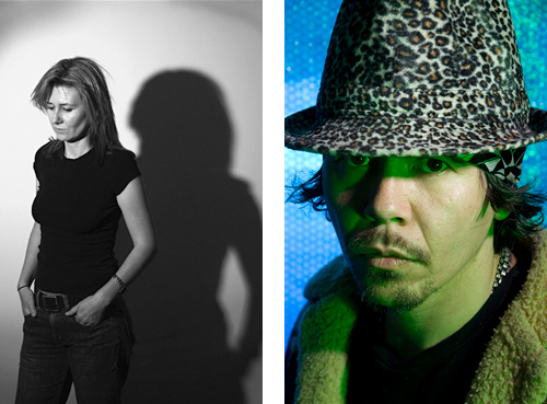 Semi Noir musician portrait and 'New Noir' portrait and Headshot.