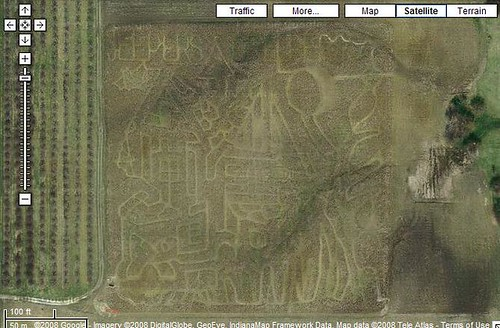 Beasleys Orchard Corn Field Maze