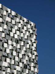 The Cheesegrater, Sheffield City Centre (Jawad Qasrawi) Tags: borg sheffield cube carpark cheesegrater borgcube sheffieldcitycentre