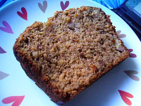 Banana nut bread by you.