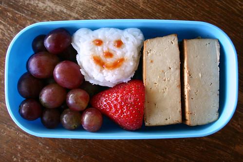 Preschooler Bento #87: October 16, 2008