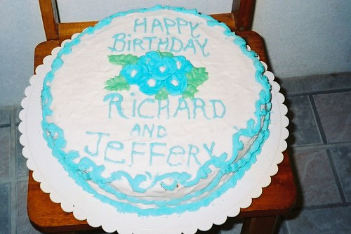 Richard and Jeffery birthday