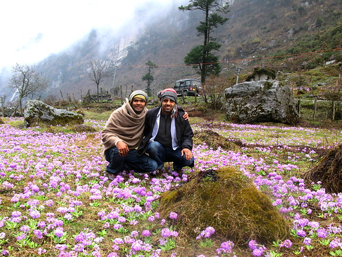 Me n My Friend Sid at Valley Of Flowers