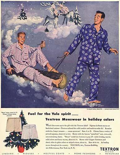 Varones en Pijama