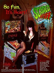 Scared Stiff pinball poster