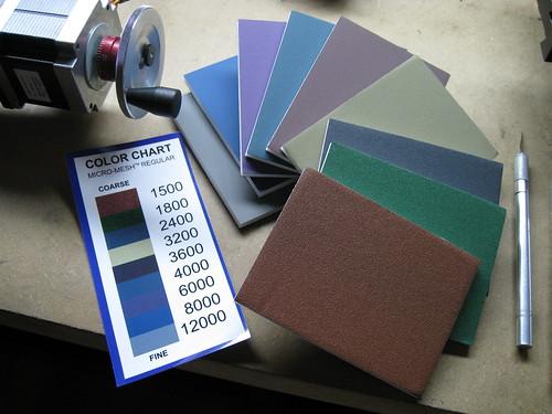 micro-mesh fine abrasive pads