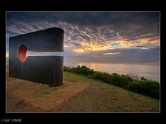 Sculptures by the Sea 2008 (sachman75) Tags: morning art bondi sunrise sydney australia coastal nsw 2008 bondibeach 1022mm hdr sculpturesbythesea interestingness111 i500 3stop 40d leefilters auselite 9hard lpsculptures