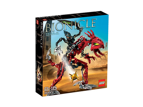 Bionicle fero and skirmix 8990 box by leggymclego.