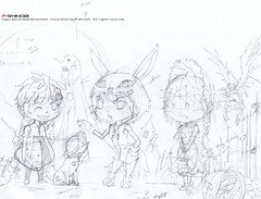 Halloween Rough sketch (P-Shinobi) Tags: anime art halloween pumpkin grande sketch candy lulu drawing chibi manga bleach rough van naruto rozen rai maiden kami  menos   dode   shinigami shinku kyuubi        ryuk pshinobi  boomlank