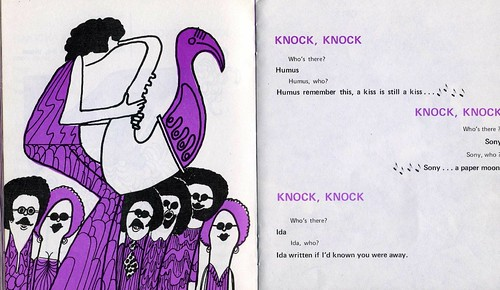world's worst knock knock jokes (and illustrations)