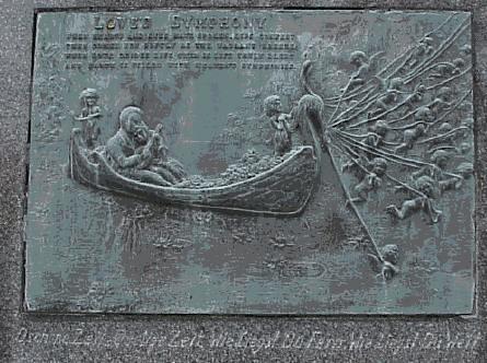 Alphonse Anton Kolb gravestone plaque