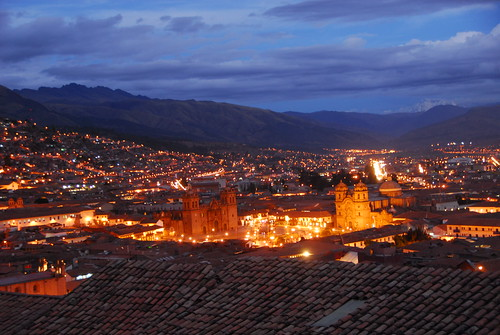 Cusco from the Loki Hostel