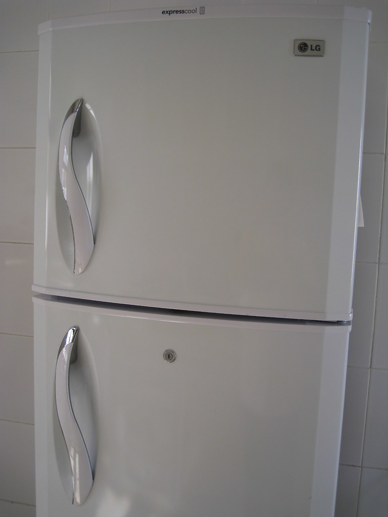 White goods from the landlord