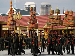 PB028666 (giftschen) Tags: thailand army bangkok ceremony royal thai tradition cremation