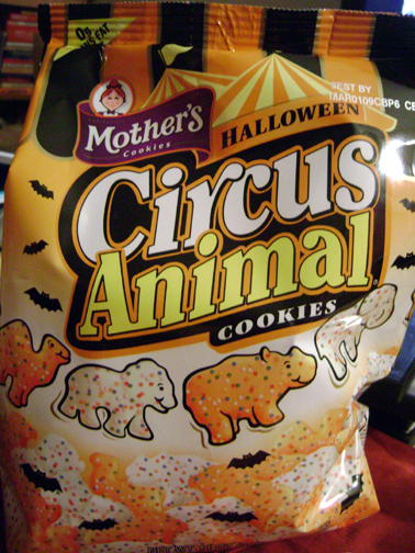Mother's Circus Animal cookies: RIP 10/08