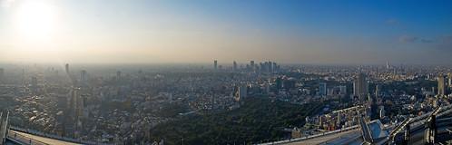 Tocando el cielo de Tokio. Sky Deck