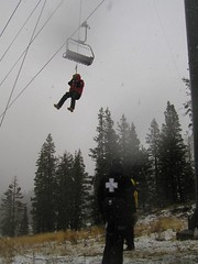 Chair Lift Evacuation @ Alpine