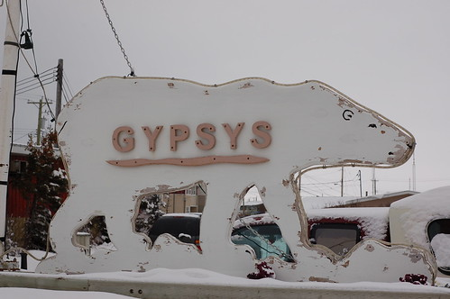 Gypsy's Bakery sign
