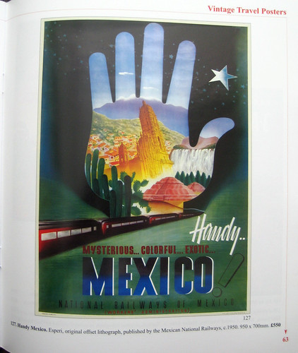 Handy Mexico - National Railways Poster