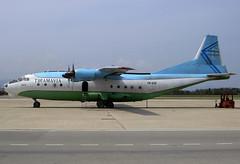 Tiramavia AN-12B ER-ACR GRO 19/04/2006 (jordi757) Tags: nikon airplanes girona d100 costabrava avions gro antonov an12 tiramavia eracr