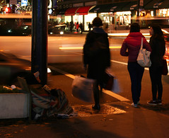 Cold (Ryan Koopmans) Tags: poverty urban vancouver photojournalism drugs lonely downtowneastside gentrification panhandler olympics2010 homelessness