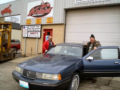 Day 102 Pick Up Cougar at Knieps Garage (Douglas Coulter) Tags: 2007 zeb